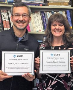 Arpaci-Dusseaus win Weiser Award