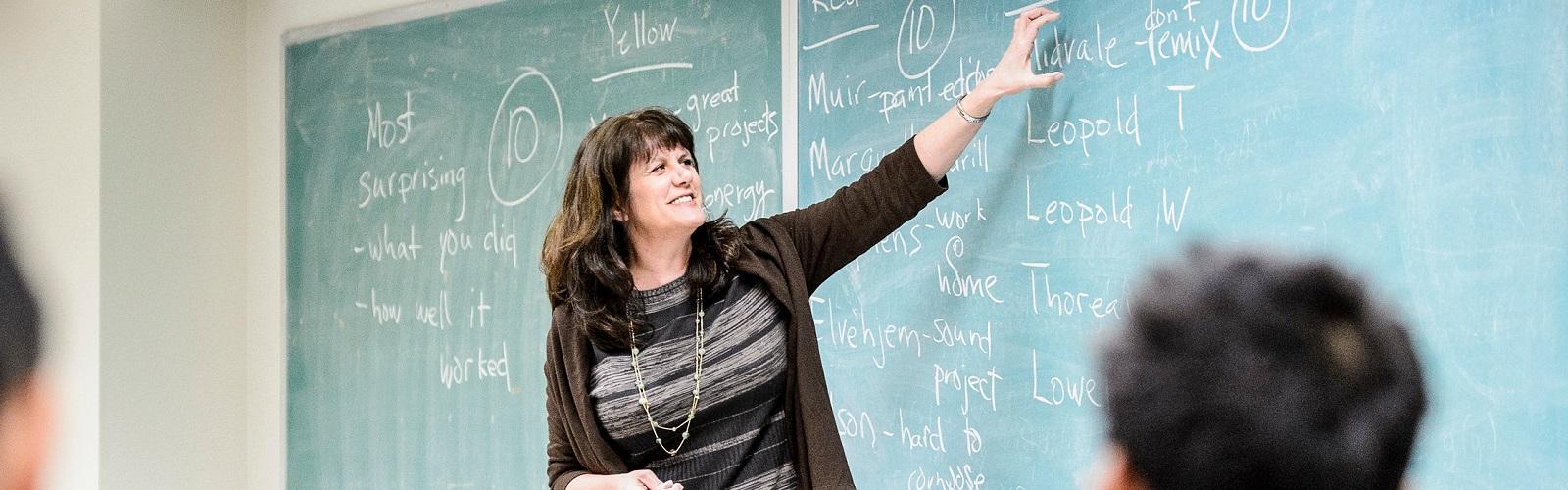 Andrea Arpaci-Dusseau teaching