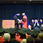 Paul Barford honored at Distinguished Alumnus at Boston University