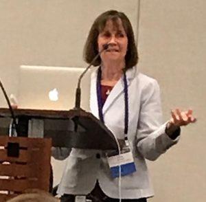 Mary Vernon speaking