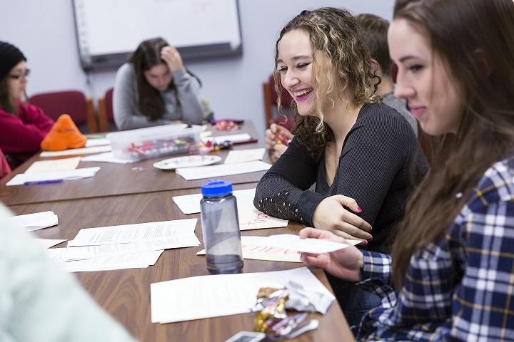 Wisconsin Emerging Scholars students