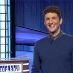Matt Amodio on Jeopardy set